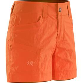 Arc'teryx Parapet Shorts Women orange